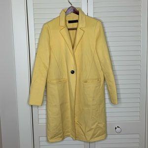 Zara yellow trench coat